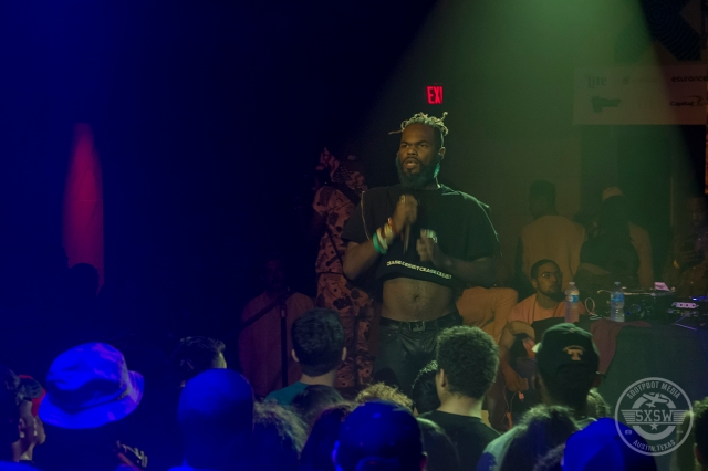Rome Fortune, vibing out at theVibes Showcase